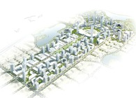 Changchun Gateway-CBD masterplan and landscape design