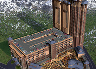 Ameristar Blackhawk Casino Resort Complex Architectural Rendering