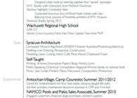 Resume and Sample Work