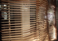 Louvered Screen Partition - Digital Fabrication