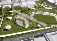 Reconstruction of Balkan Square - Thessaloniki / 3rd prize