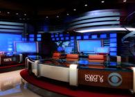 News set design - KWTV CBS 9