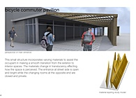 Bicycle Commuter Pavillion