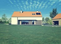 Single family house near Olsztyn.