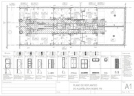 Autocad plans for a residential building