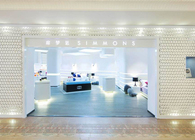 Simmons New generation shop_Premier and Studio: branding, interior, embellishment, uniform and identity.