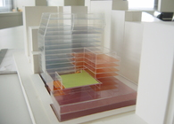 Model studies of the mixed-use project