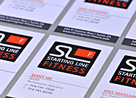 Starting Line - Business Cards