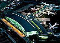 Terminal One in JFK Airport. New York