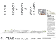 2008-2009 4th year of architecture
