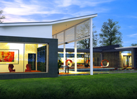 3D RENDERING - MODERN CAPE COD DESIGN 