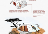 Geodesic Refugee Shelter