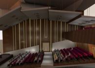 Acoustics of a Concert Hall