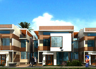 Icon townhomes in Ghana .