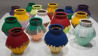 """Colored Vases"", Ai Weiwei, 2006-2012"