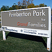 Pemberton Park is a new apartment complex in Kansas City that's designed specifically for grandparent-led families. (Sylvia Maria Gross)