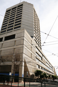 "Called a ""glorified parking structure"" by locals: 1455 Market St. (Photo: Katie Brigham; via kqed.org)"