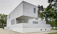 The new Gropius building in Dessau. (The Guardian; Photograph: Christoph Rokitta/Bauhaus Dessau Foundation)