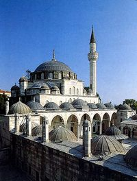 The Sokollu Mehmet Pasha Mosque photo via Wikimedia