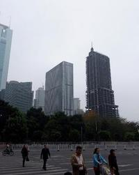 Abandoned and left unfisnished for 16 years: a 46-story skyscraper in the heart of Guangzhou, China. (Image via asia.nikkei.com)