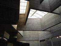 View of the atrium skylights. (Photo: Mary Brown, DOCOMOMO US/NOCA; via docomomo-us.org)