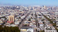 San Franciscos Mission District, where an estimated 400 homeless people in that area will be moved to the new homeless-aid Navigation Center. (Photo via Wikipedia)