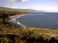A view of the Point Dume coastline and its mostly private beaches. - See more at: http://www.architectsla.com/philosophy/on-being-a-malibu-architect-the-vibe-part-2.html#sthash.DsJZVrpW.dpuf