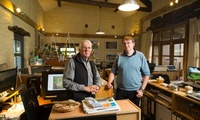 'We can't go to Iraq because it's too dangerous' ... Derrick and Elliot Hartley of Garsdale Design in Sedbergh. Photograph: Christopher Thomond for the Guardian