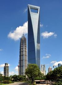 Danger zone: Built in 2008, the Shanghai World Financial Centre could herald the onset of a financial crash for China, Barclays Capital claim