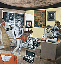 Richard Hamilton Just What Is It That Makes Today&amp;amp;#39;s Homes So Different, So Appealing? from 1956 by Richard Hamilton