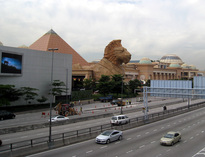 The Sunway Pyramid - Arrival