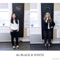 the Black & White
