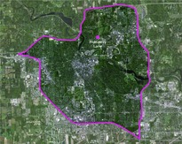 map of Ann Arbor
