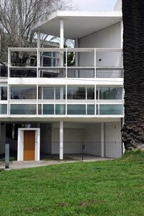 "Casa Curutchet, located in La Plata, Argentina was designed by Le Corbusier and has been in several films including ""El Hombre del al Lado."""