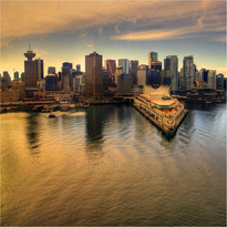 This beautiful shot of Vancouver comes from Evan Leeson (flkr ID: ecstaticist)