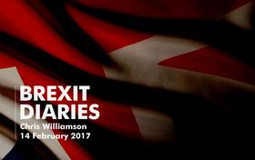 Brexit Diaries: Chris Williamson, 14 February 2017