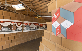Work on Work exhibition turns public space into office space