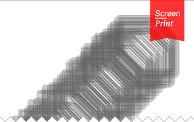 Screen/Print #34: KTISMAs Lick Your Buildings