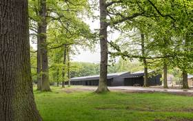 Designing for horses with history: the new stables of Dyrehaven park by Bertelsen & Scheving