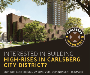Conference on High-Rise Properties in the Carlsberg City District of Copenhagen