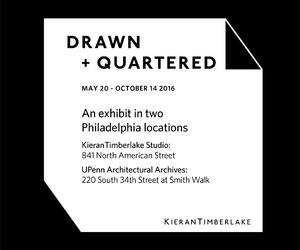 KieranTimberlake: Drawn + Quartered Exhibit