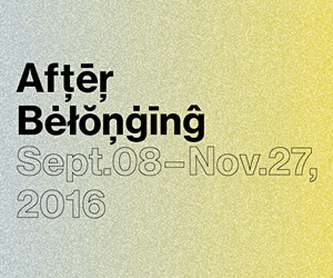 Oslo Architecture Triennale 2016: After Belonging