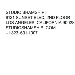 Studio Shamshiri