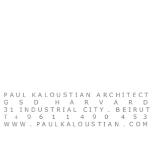 paul kaloustian architect