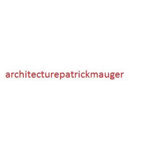 Architecture Patrick Mauger