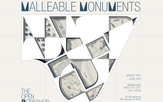 """Nothing constant but change in The Open Workshop's """"Malleable Monuments"""""""