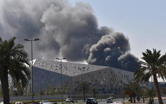 Kuwait's New Opera House Catches Fire