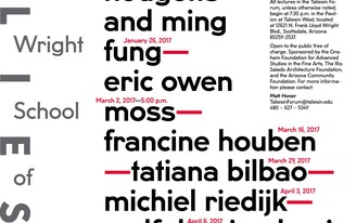 Get Lectured: Taliesin, Spring '17