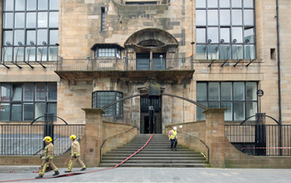 From the Historic Massachusetts Cotton Mill, yellow pine timber gets a second life at the Mackintosh Building in Glasgow
