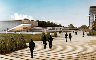 Motto awarded 1st Prize in 90th Ann. Capital Polygon Complex Competition